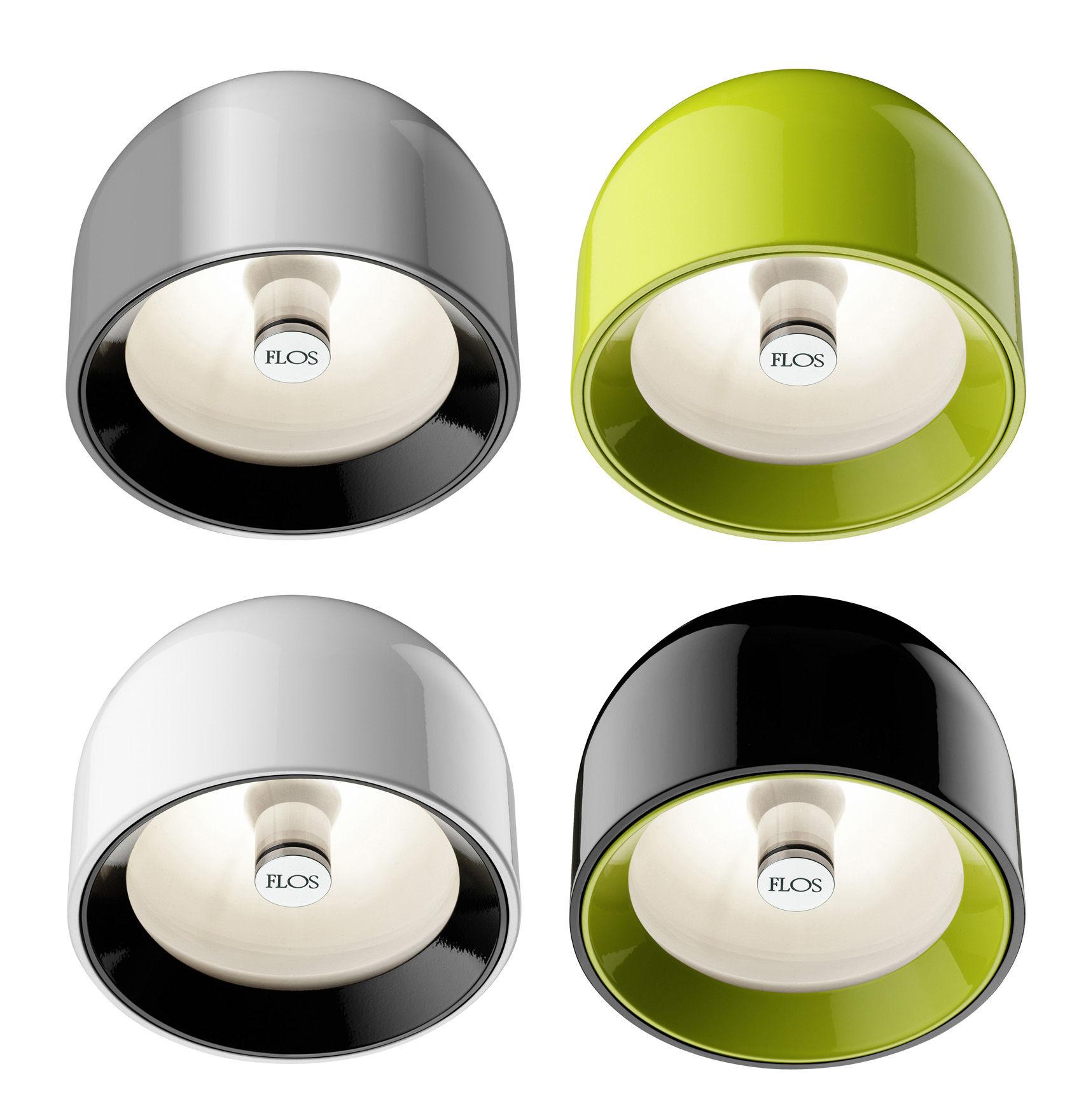 wan wall light ceiling light green by flos. Black Bedroom Furniture Sets. Home Design Ideas