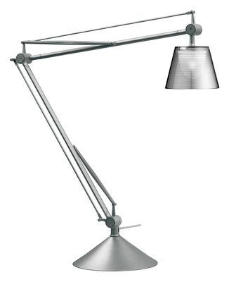Lighting - Table Lamps - Archimoon K Table lamp by Flos - Transparent - Aluminium, Methacrylate