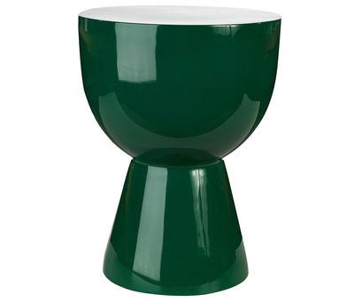 Tabouret Tam Tam Plastique Pols Potten vert émeraude en matière plastique