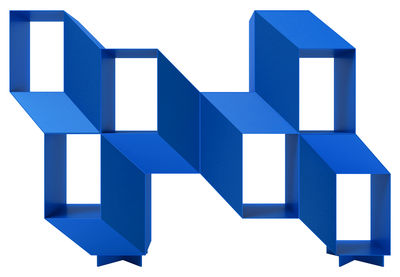 Etagère Rocky / L 140 x H 95 cm - Acier - La Chance bleu en métal