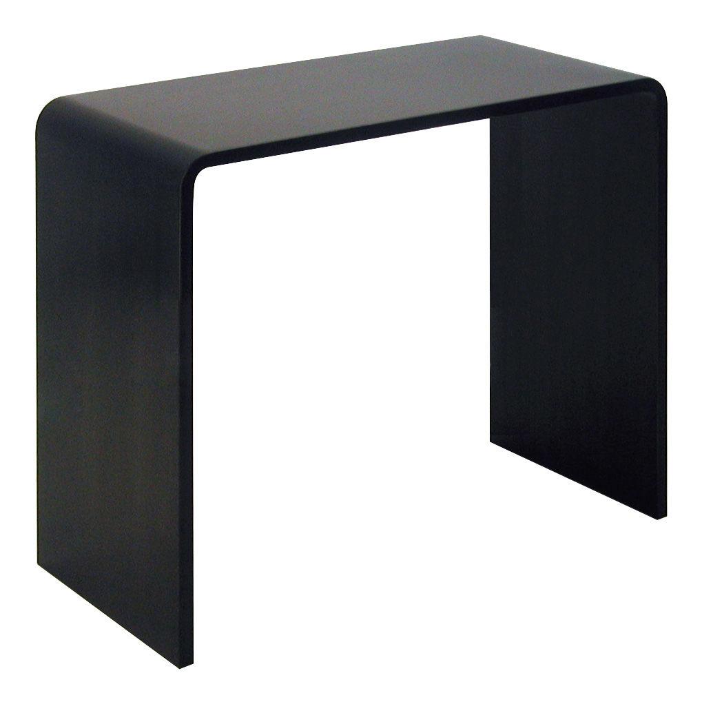 console solitaire bureau l 87 x prof 42 x h 74 cm acier noir h 74 cm zeus. Black Bedroom Furniture Sets. Home Design Ideas