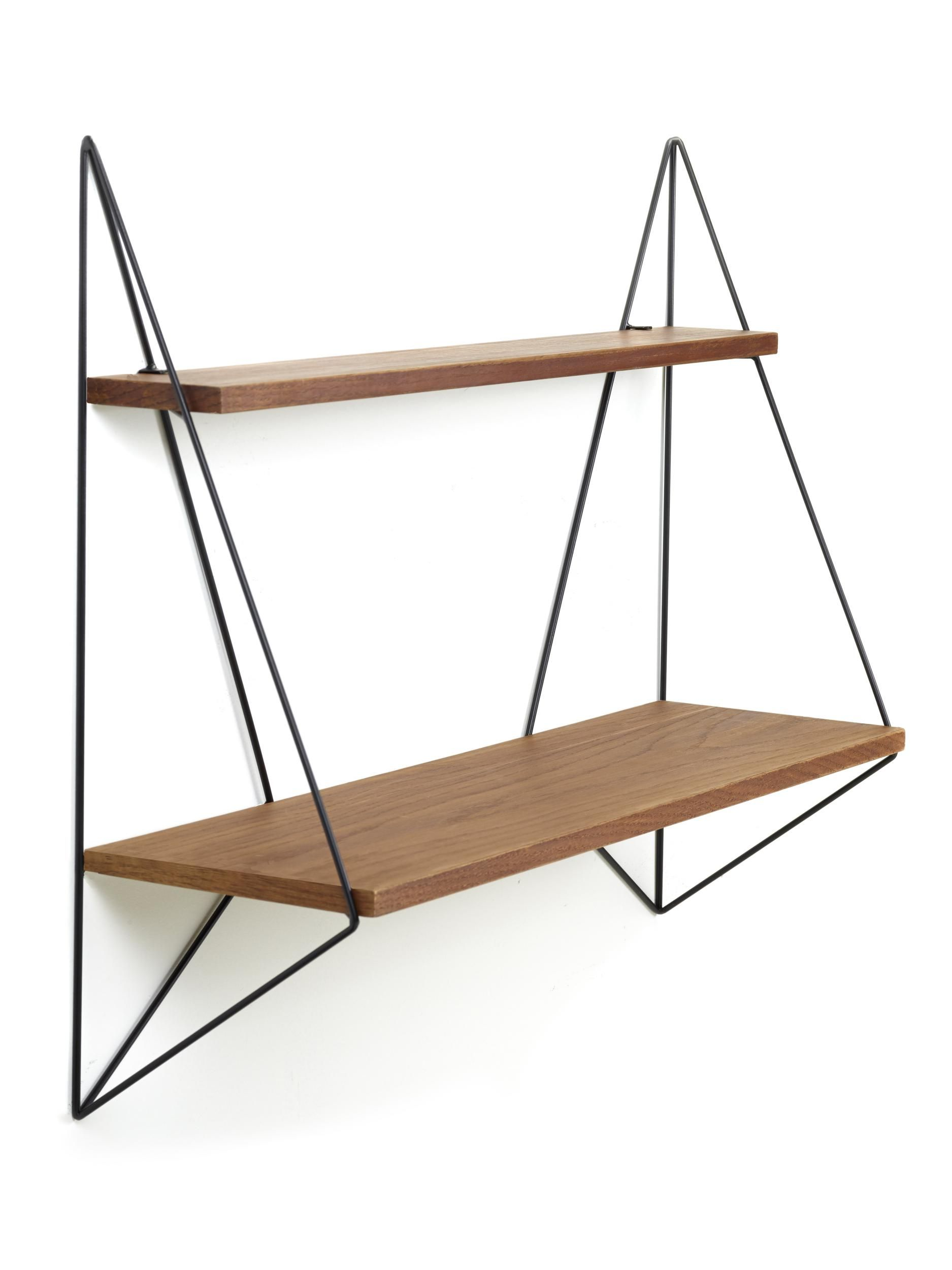 butterfly regal l 75 cm x h 64 cm eiche natur gestell schwarz by serax made in design. Black Bedroom Furniture Sets. Home Design Ideas