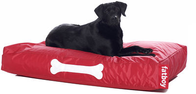 pouf doggielounge pour chien large rouge fatboy. Black Bedroom Furniture Sets. Home Design Ideas