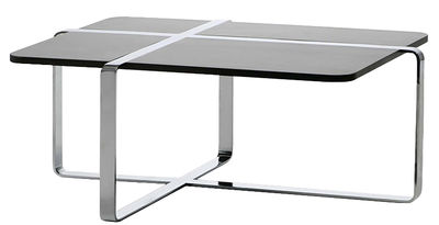 Table basse sake 100 x 70 cm weng acier chrom rs for Table 100x70