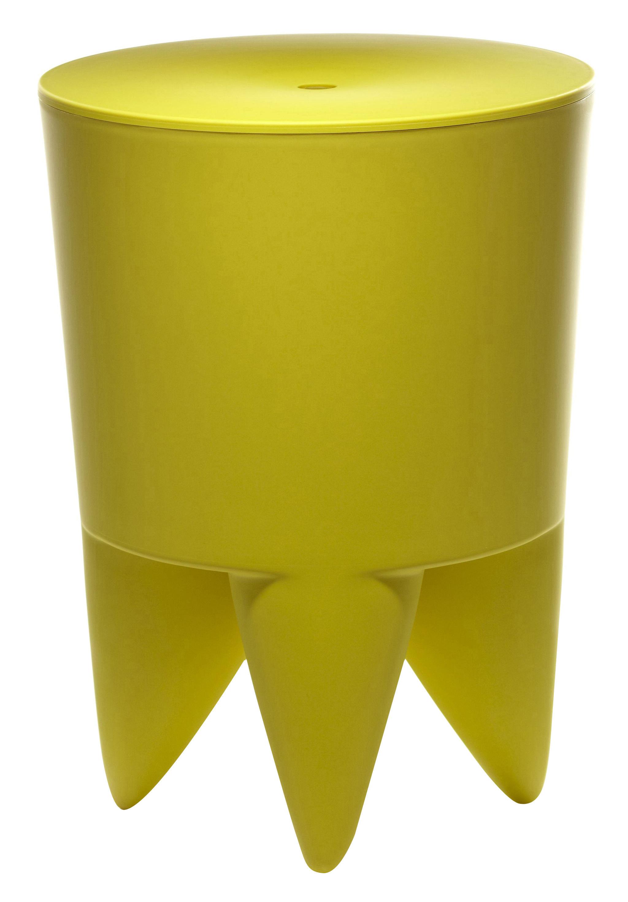 tabouret new bubu 1er coffre plastique absinthe xo. Black Bedroom Furniture Sets. Home Design Ideas