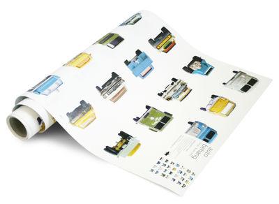 Papier peint Cars L 48,5 cm Modèle d'expo studio ditte multicolore en papier