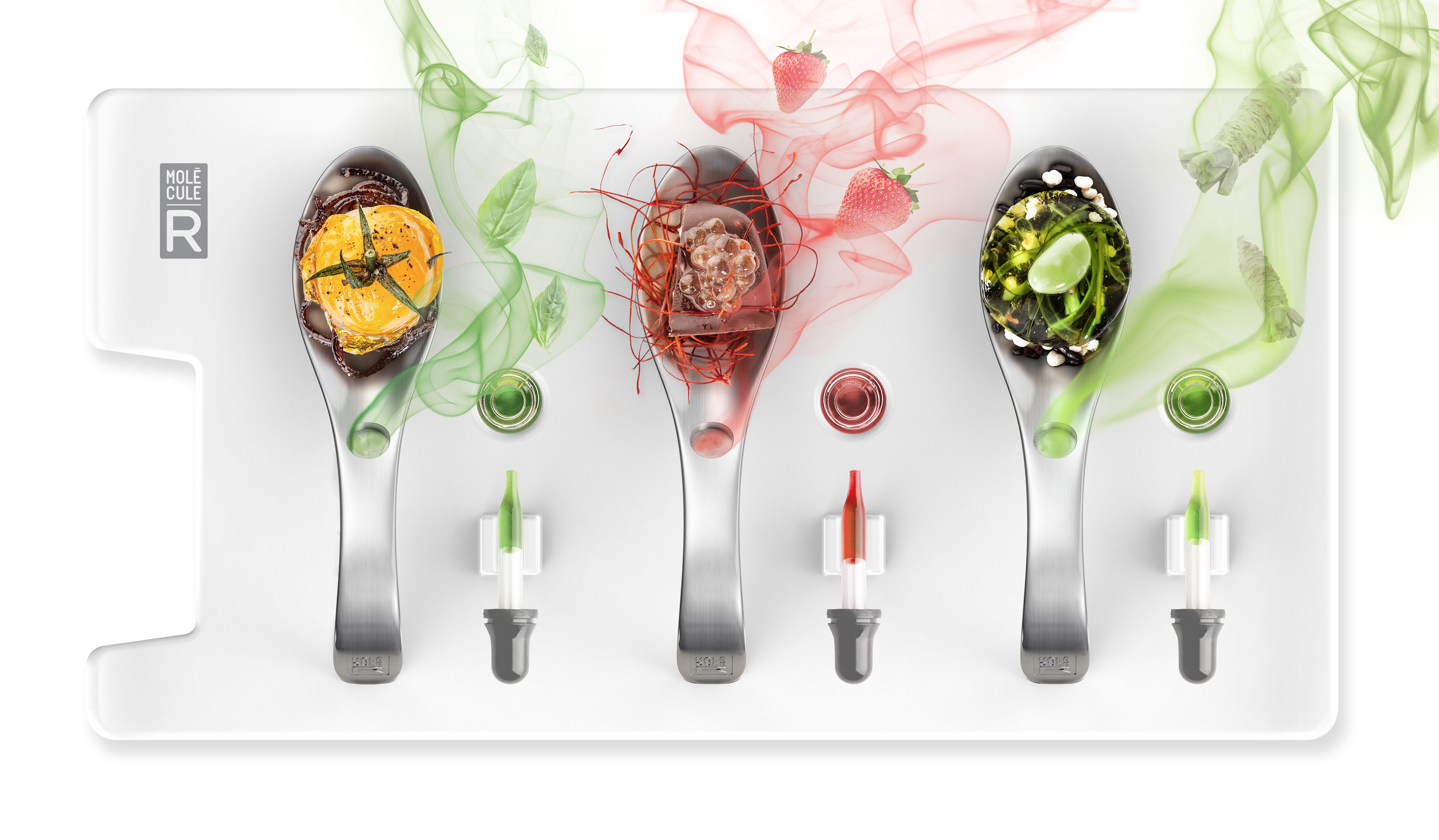 Kit cuisine mol culaire service aromatique aromaspoons for Kit cuisine moleculaire cultura