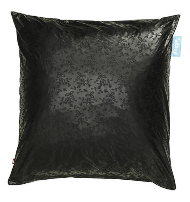 coussin de sol cuscino noir fatboy. Black Bedroom Furniture Sets. Home Design Ideas