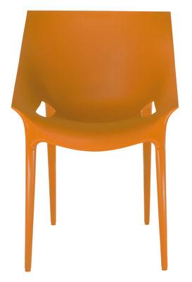 Dr. YES Stapelbarer Sessel - Kartell - Orange