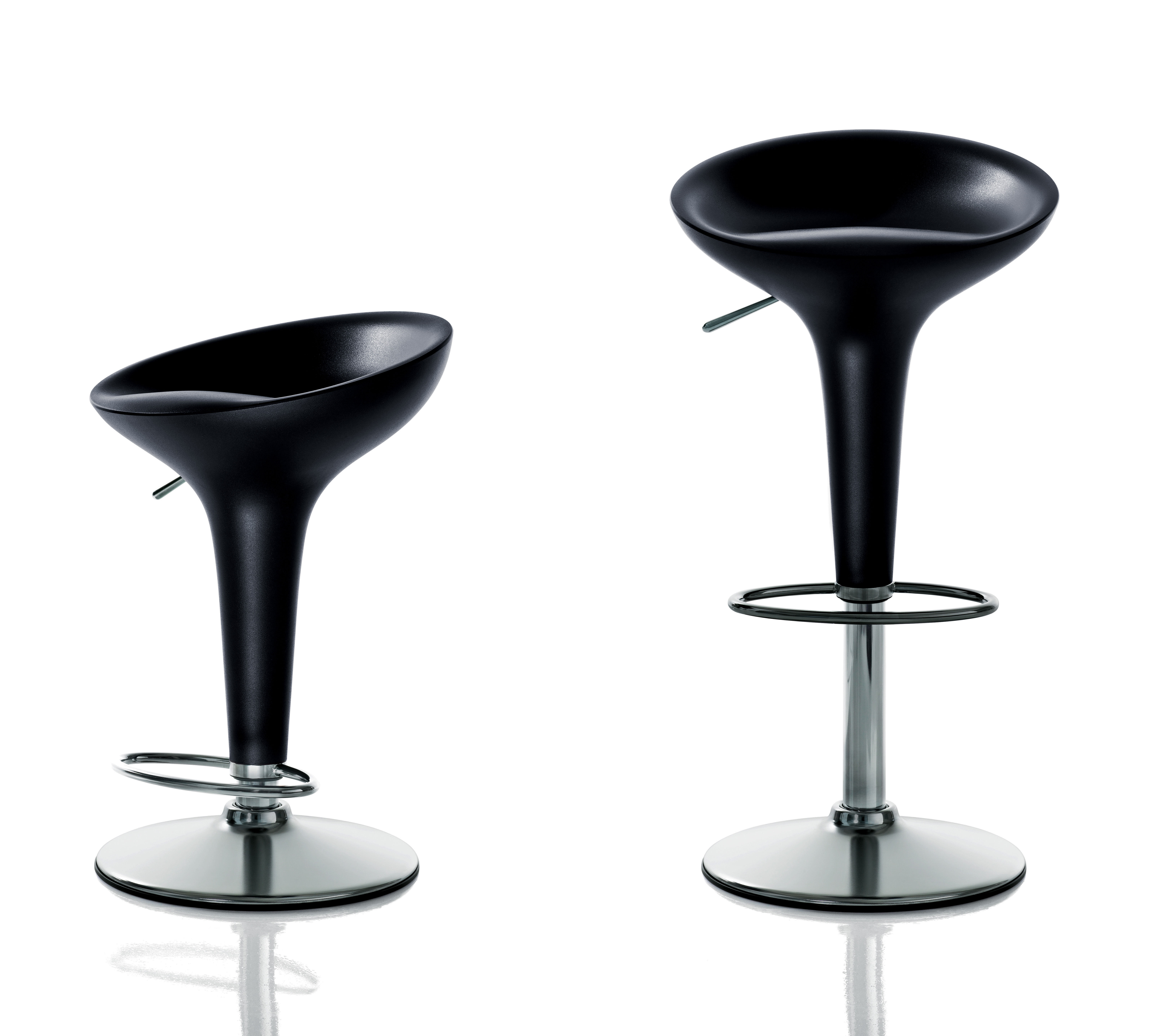 Bombo the original adjustable bar stool pivoting h 56 for Magis bombo
