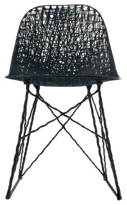 Outdoor - Chairs - Carbon Outdoor Chair - Outdoor version by Moooi - Black - Carbon fibre