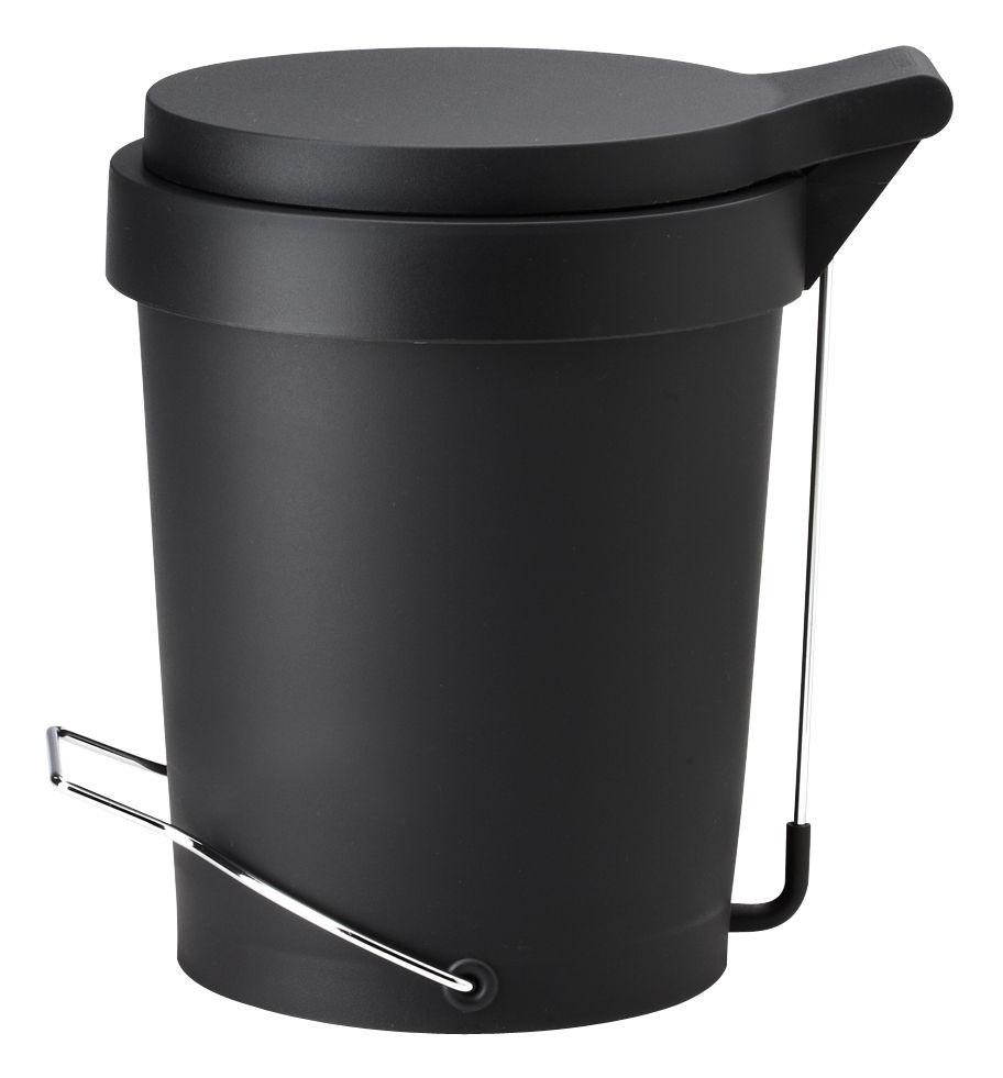 poubelle p dale tip 15 litres noir authentics. Black Bedroom Furniture Sets. Home Design Ideas