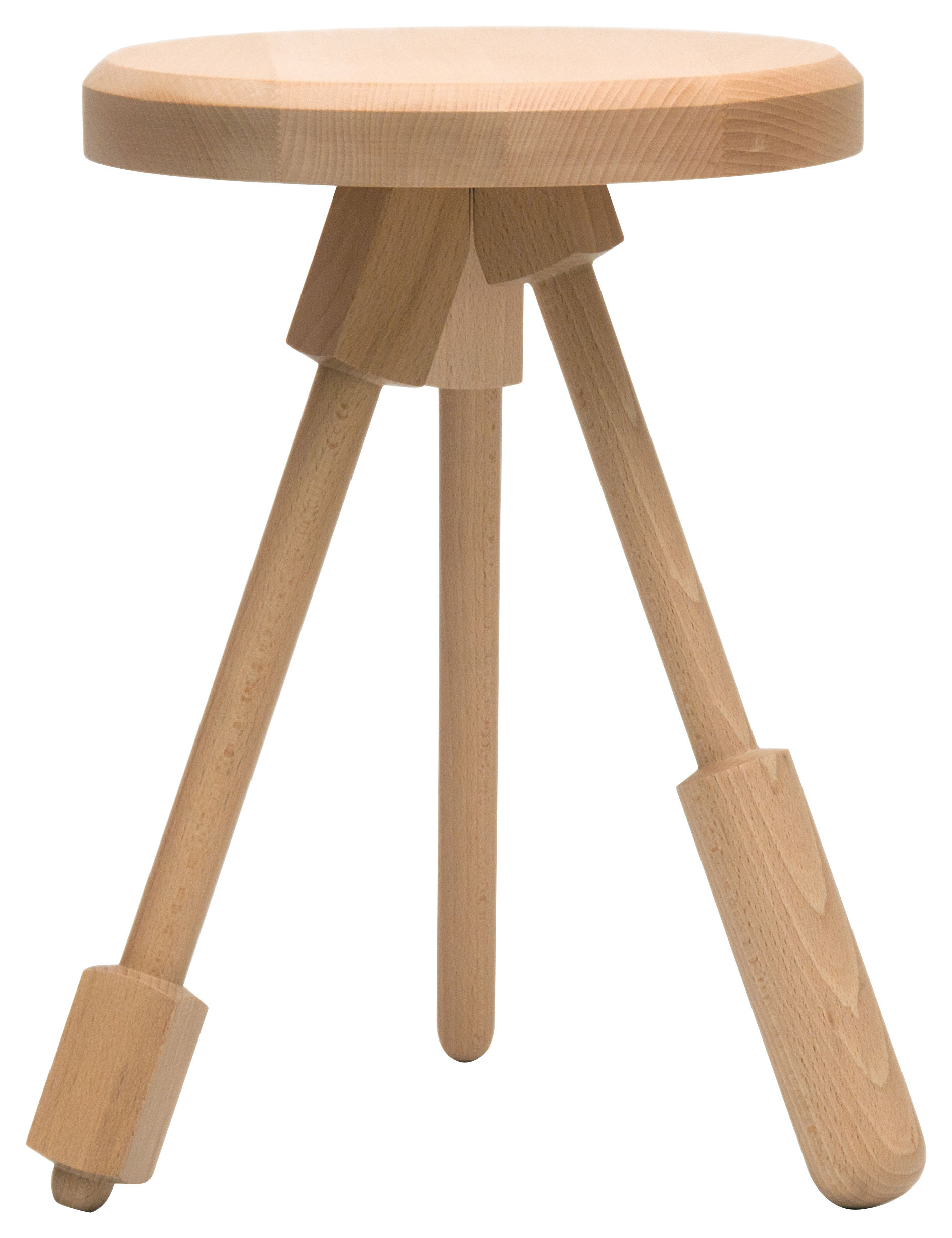 Au Bois Le Sire Orbey - Tabouret Milk Stool Version 1 Bois Bois naturel Version 1 Y'a pas le feu au lac