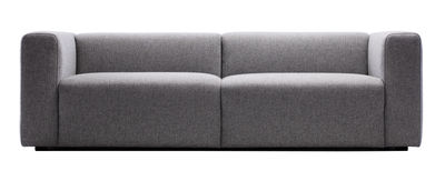 Furniture - Sofas - Mags Straight sofa - 2 ½ seats / L 228 cm by Hay - Light grey - Kvadrat fabric