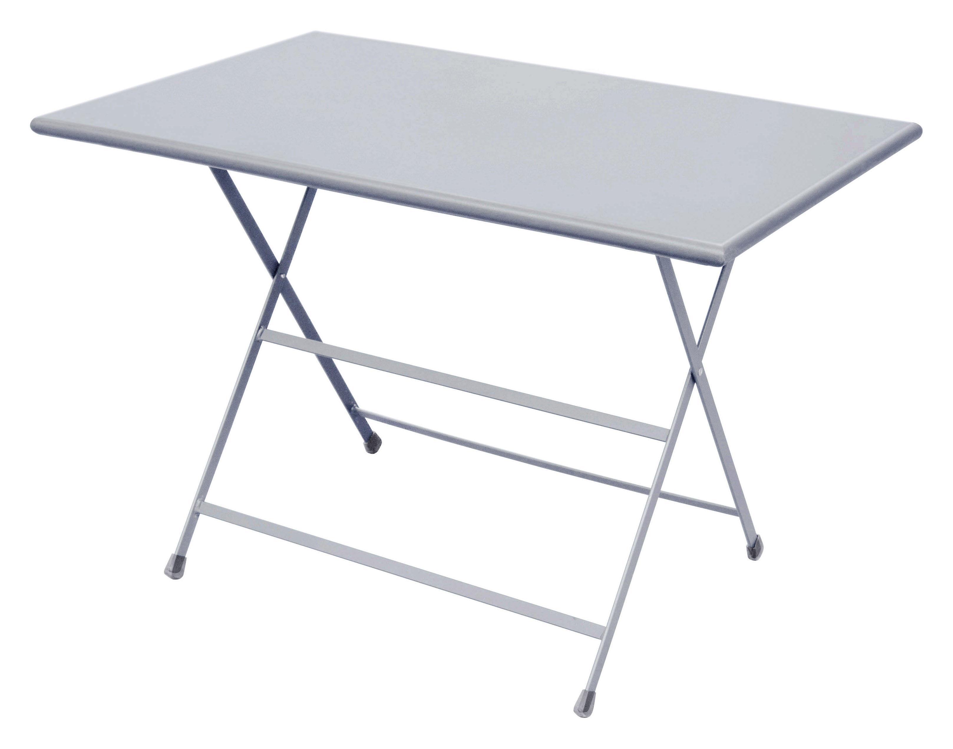 Table pliante arc en ciel 110 x 70 cm aluminium emu for Table cuisine 110 x 70