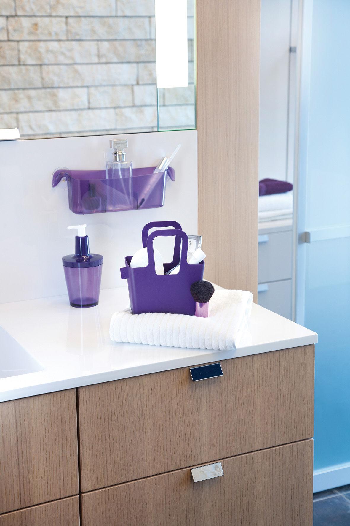 bac de rangement midi boks orange transparent koziol. Black Bedroom Furniture Sets. Home Design Ideas