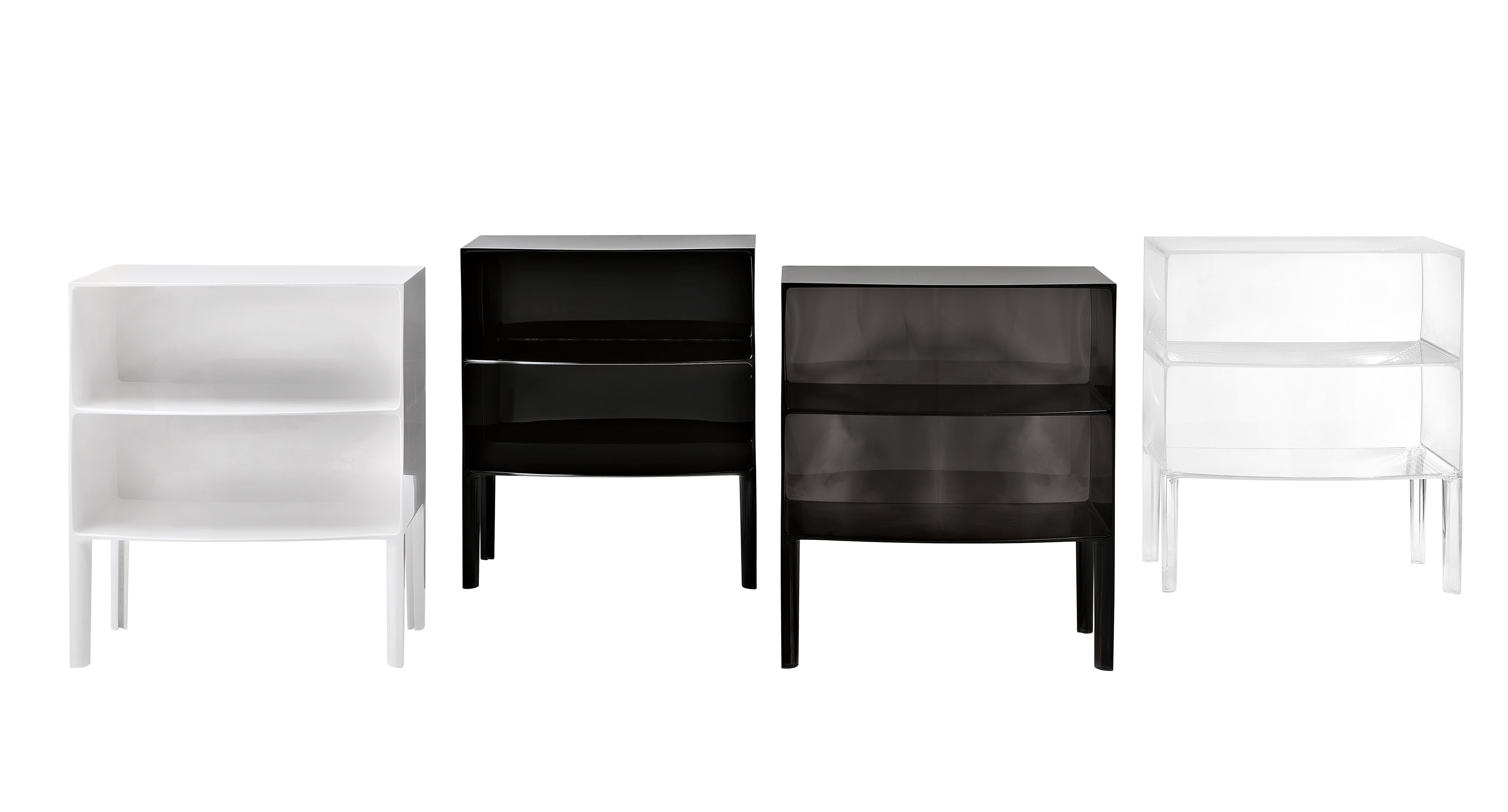 Ghost Buster Chest of drawers Black by Kartell