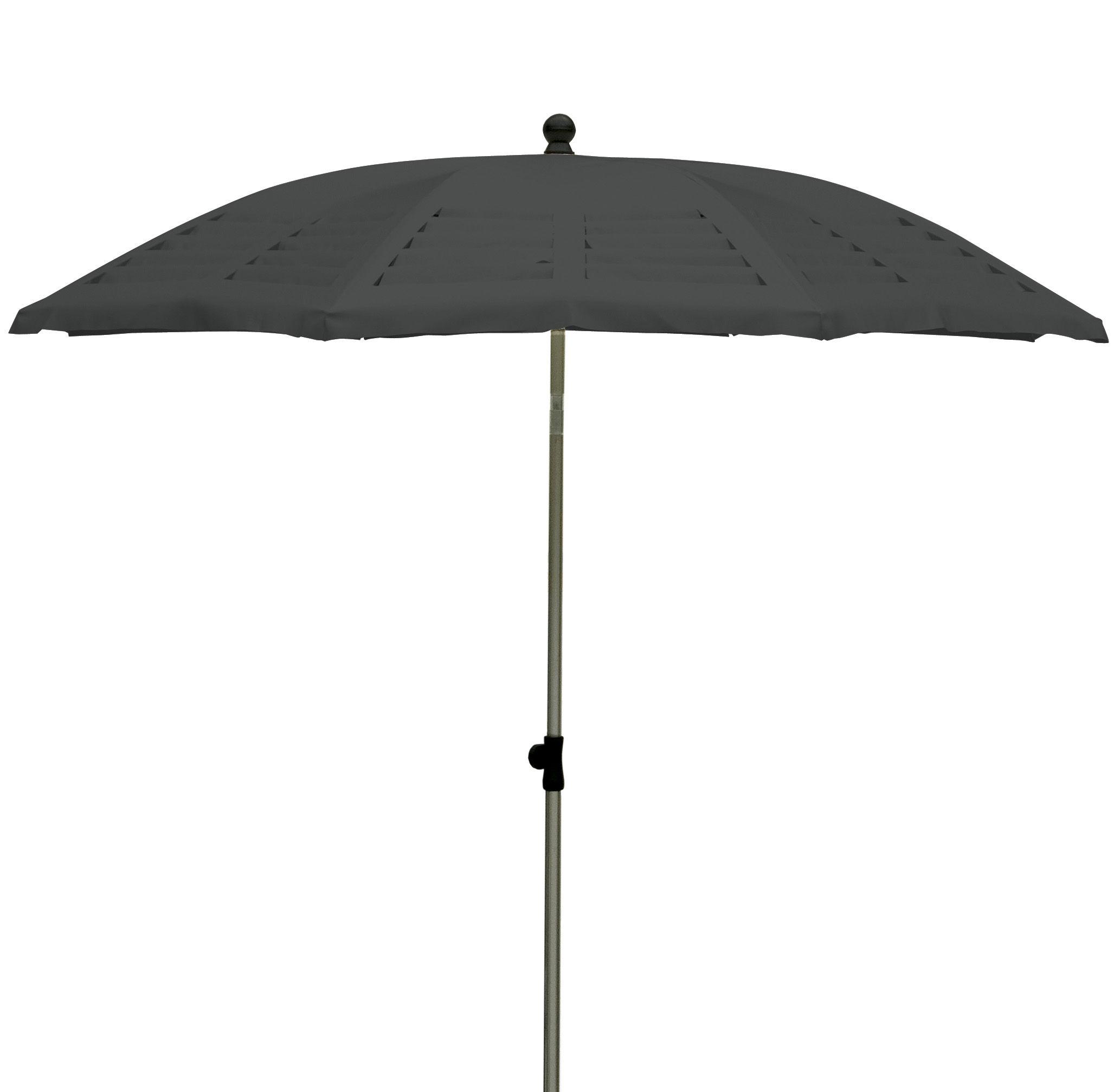 parasol mariline 190 cm 8 pans avec d coupes laser. Black Bedroom Furniture Sets. Home Design Ideas