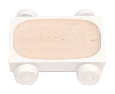 Arts de la table - Saladiers, coupes et bols - Plat Kart - K01 / 12 x 8 cm - Y'a pas le feu au lac - Blanc - Bois de charme