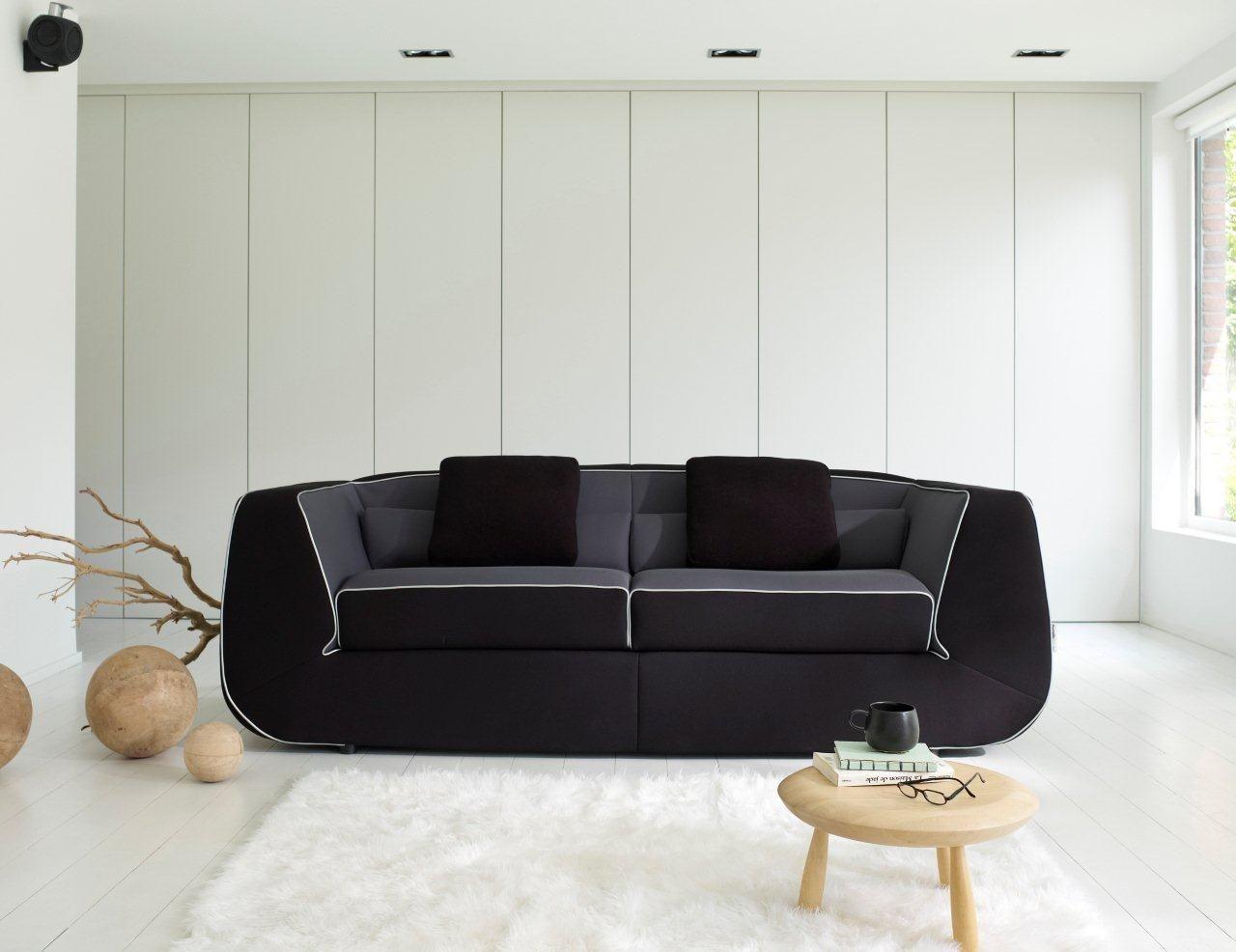 canap droit bump by ora ito 2 3 places l 198 cm. Black Bedroom Furniture Sets. Home Design Ideas