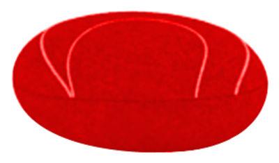 Foto Cuscino Yann - Livingstones Laine - Per l'interno - 29x26 cm di Smarin - Rosso - Tessuto