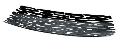Image of Centrotavola Bark / 51,5 x 19,5 cm - Alessi - Nero - Metallo