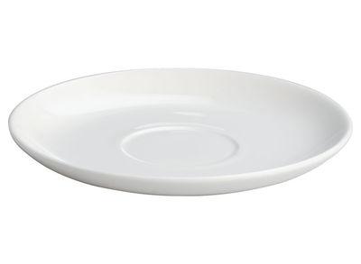 Soucoupe All-time pour tasse à thé All-time - A di Alessi blanc en céramique