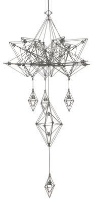 Himmeli Pendelleuchte / H 133 cm - Forestier - Grau