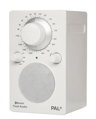 Radio Pal BT Enceinte portative Bluetooth Tivoli Audio blanc en matière plastique