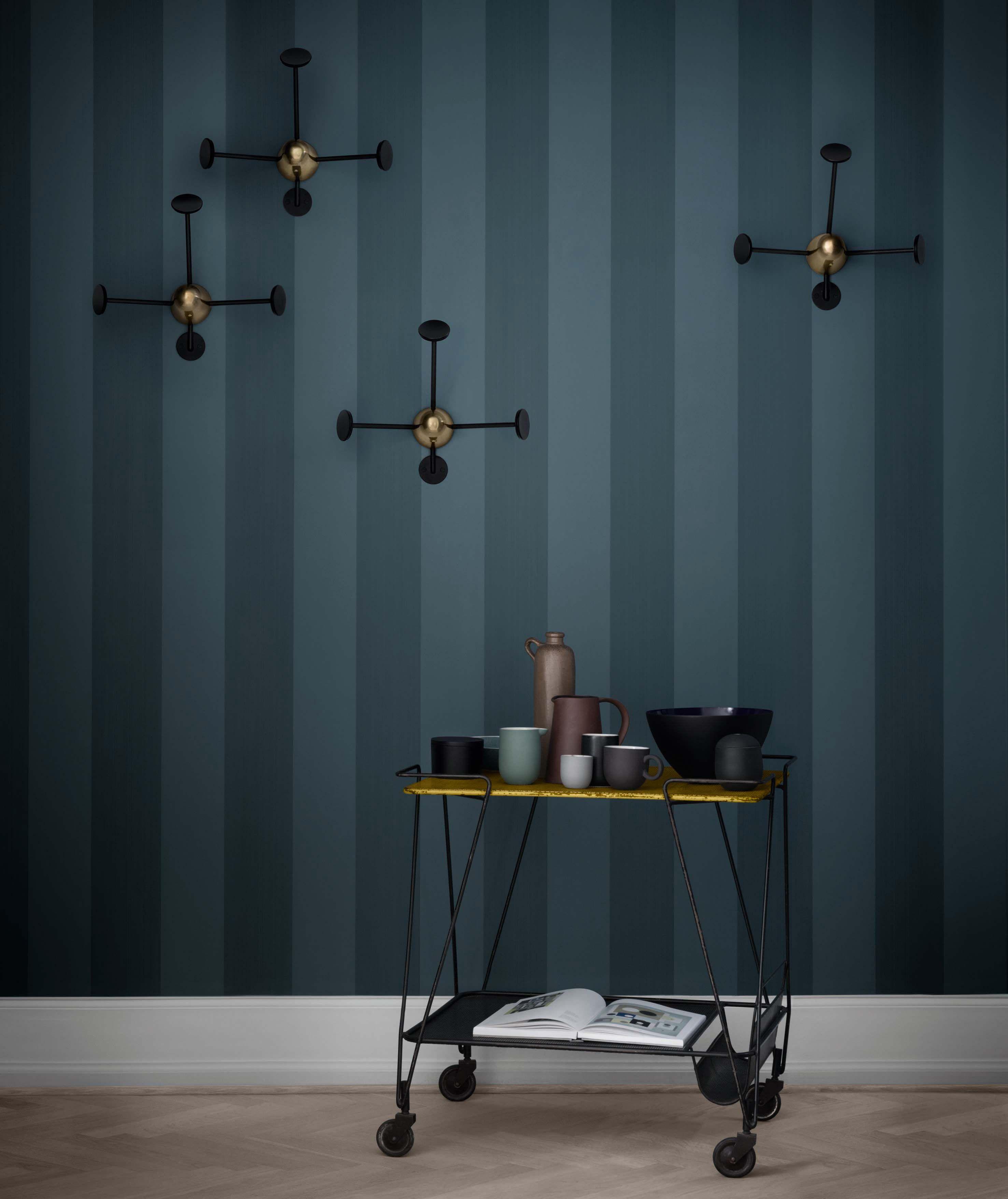 portemanteau mat got r dition 50 39 noir laiton gubi. Black Bedroom Furniture Sets. Home Design Ideas