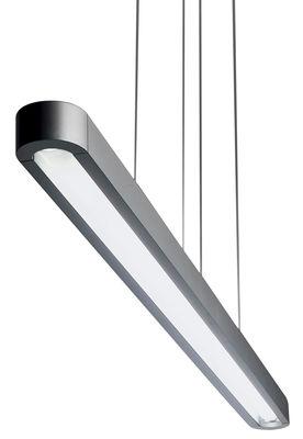 Illuminazione - Lampadari - Sospensione Talo - L 90 cm di Artemide - Argento - L 90 cm - Alluminio