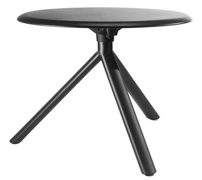 Arredamento - Tavolini  - Tavolino Miura di Plank - Nero - Acciaio verniciato