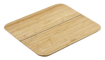 Planche à découper Chop2Pot Bambou / Pliable - L 33 cm - Joseph Joseph bambou en bois