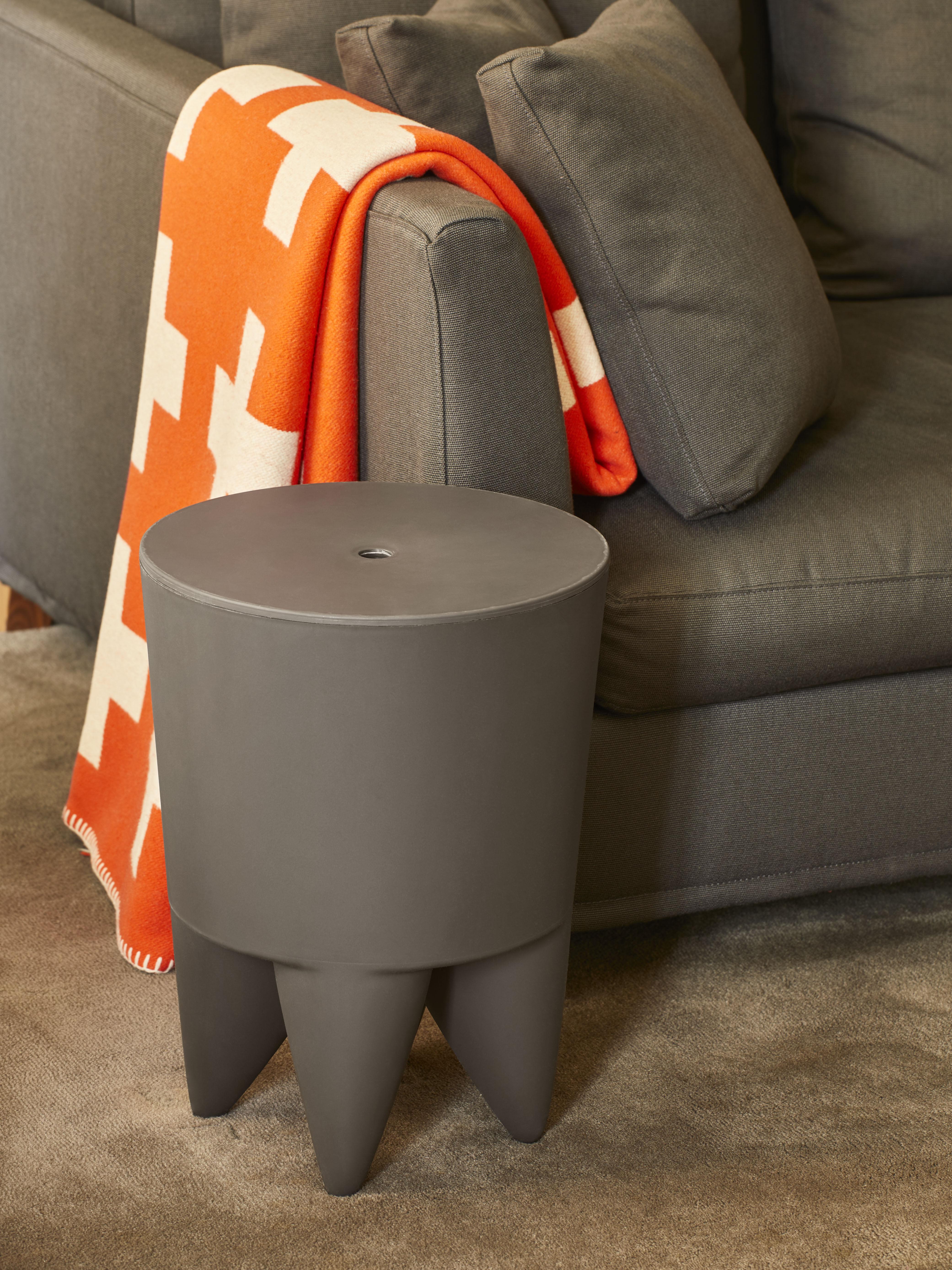 tabouret new bubu 1er coffre plastique bleu canard xo. Black Bedroom Furniture Sets. Home Design Ideas