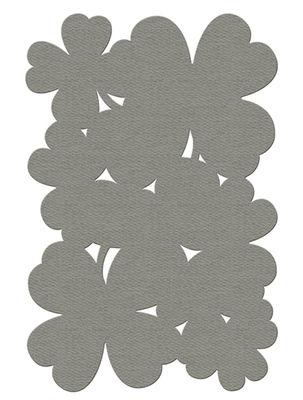 Déco - Tapis - Tapis d'extérieur Trèfle / 150 x 100cm - Fermob - Taupe - PVC