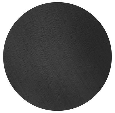 Déco - Corbeilles, centres de table, vide-poches - Couvercle pour corbeille Wire / Large - Ø 60 cm - Ferm Living - Chêne noir - Placage chêne