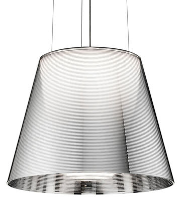 Lighting - Pendant Lighting - K Tribe S2 Pendant - Ø 39.5 cm by Flos - Transparency - PMMA