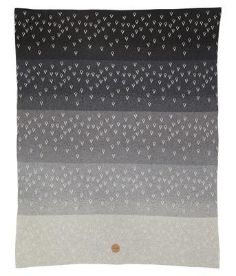 Déco - Textile - Plaid enfant Little Gradi / 80 x 100 cm - Ferm Living - Gris - Coton