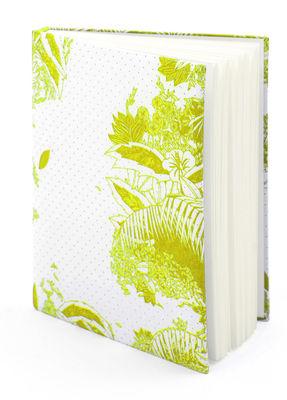 Accessoires - Bloc-notes, cahiers et stylos - Carnet Moogli / Couverture coton - Hartô - Jaune - Coton, Papier