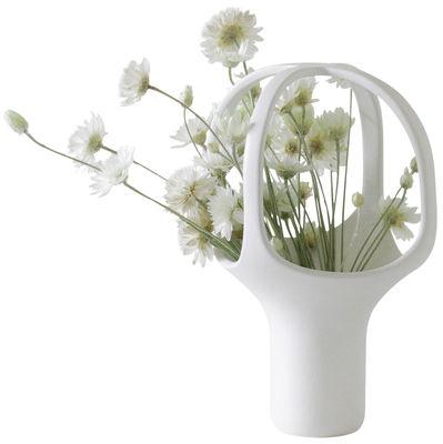 Déco - Vases - Vase Heirloom n°1 / H 25 cm - Moustache - Blanc - Céramique