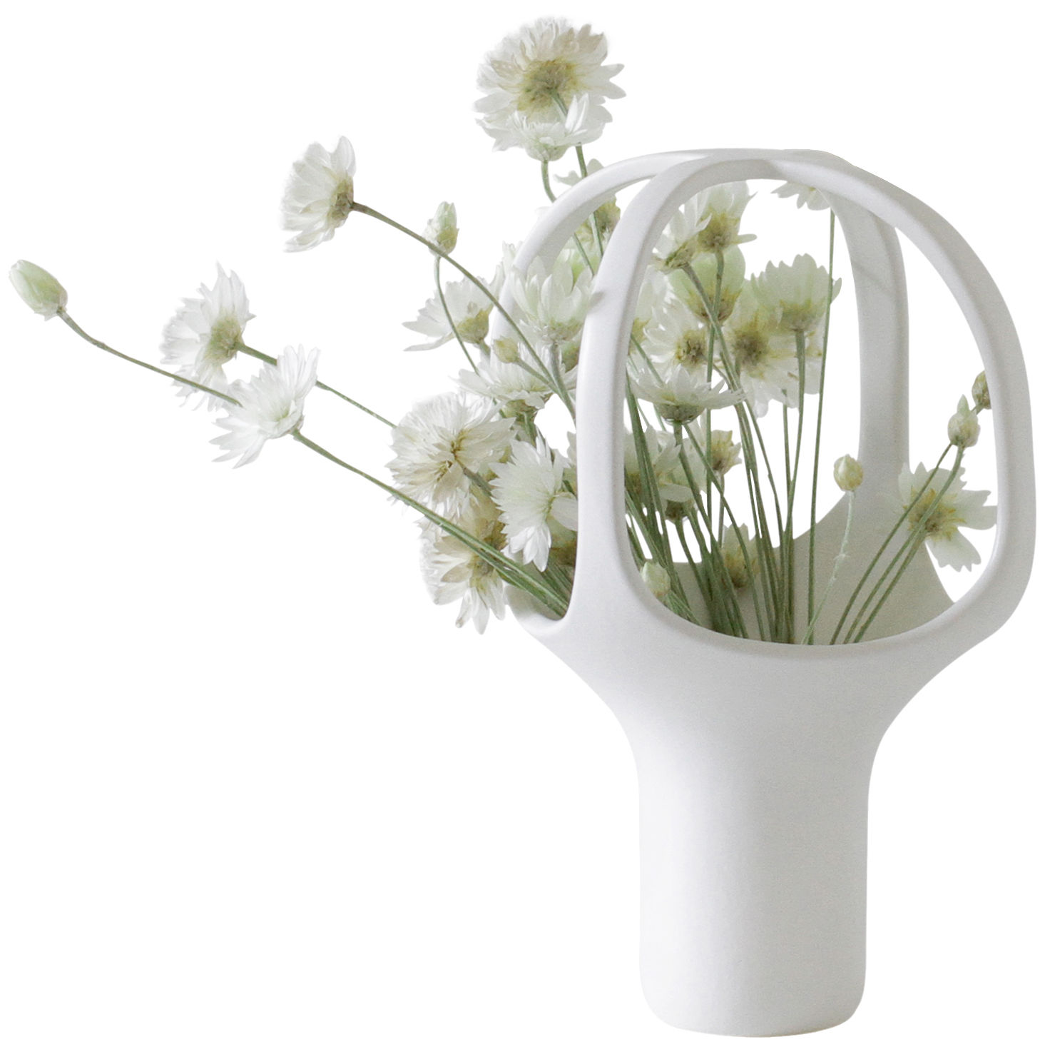 vase heirloom n 1 h 25 cm blanc moustache made in design. Black Bedroom Furniture Sets. Home Design Ideas
