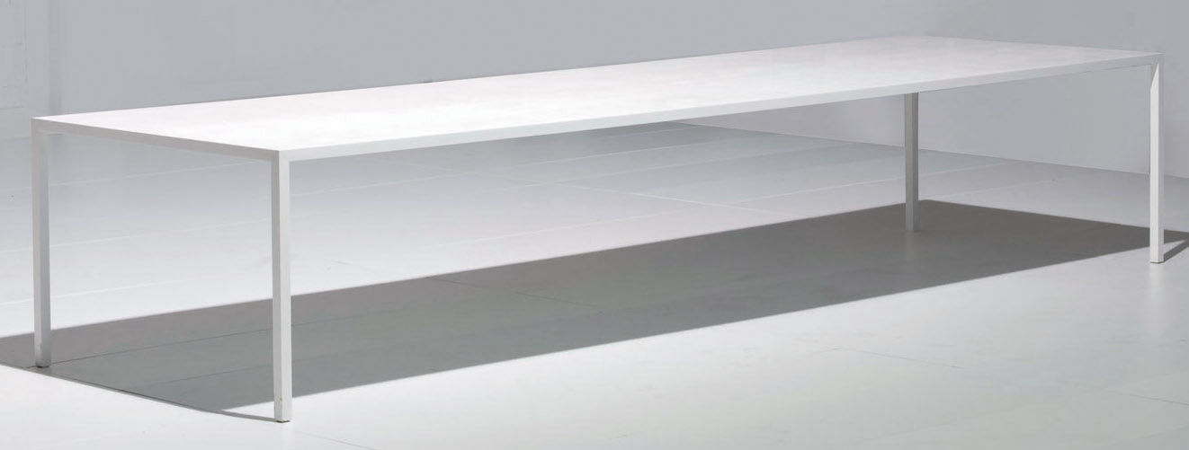 Tense table 150 x 150 cm 150 x 150 cm white by mdf italia for Table 150 cm
