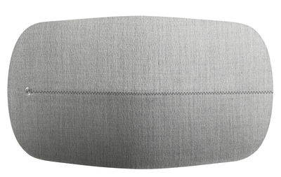 Enceinte Bluetooth BeoPlay A6 Sans fil B O PLAY by Bang Olufsen gris clair en métal