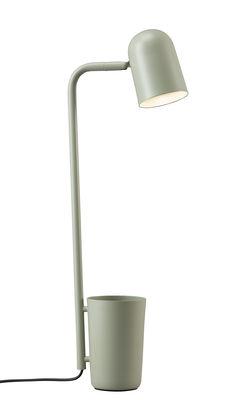 Lampe de table Buddy Métal Pot intégré Northern vert pâle en métal