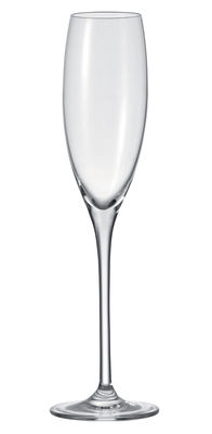 Tableware - Glasses - Cheers Champagne glass by Leonardo - Transparent - Glass