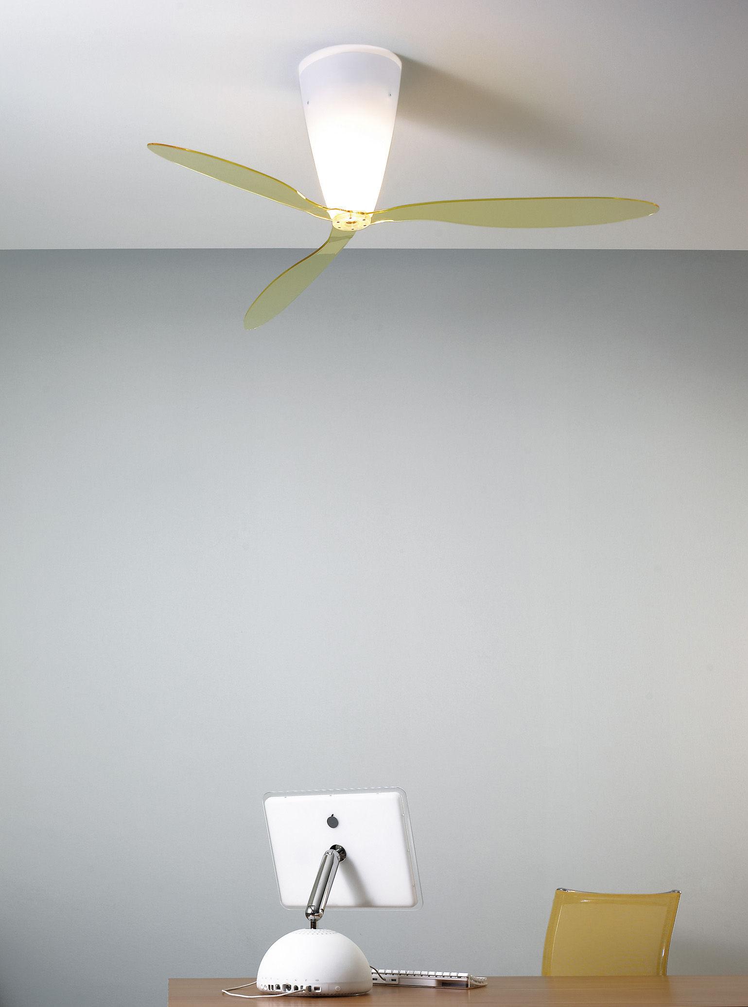 Plafonnier Blow Ventilateur Ø 140 cm Avec motifs