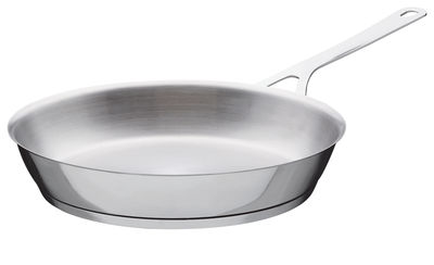 Kitchenware - Pots and pans - Pots and Pans Frying pan by A di Alessi - Ø 28 cm - Stainless steel