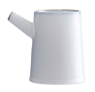 Vase Tube / Porcelaine - House Doctor blanc en céramique