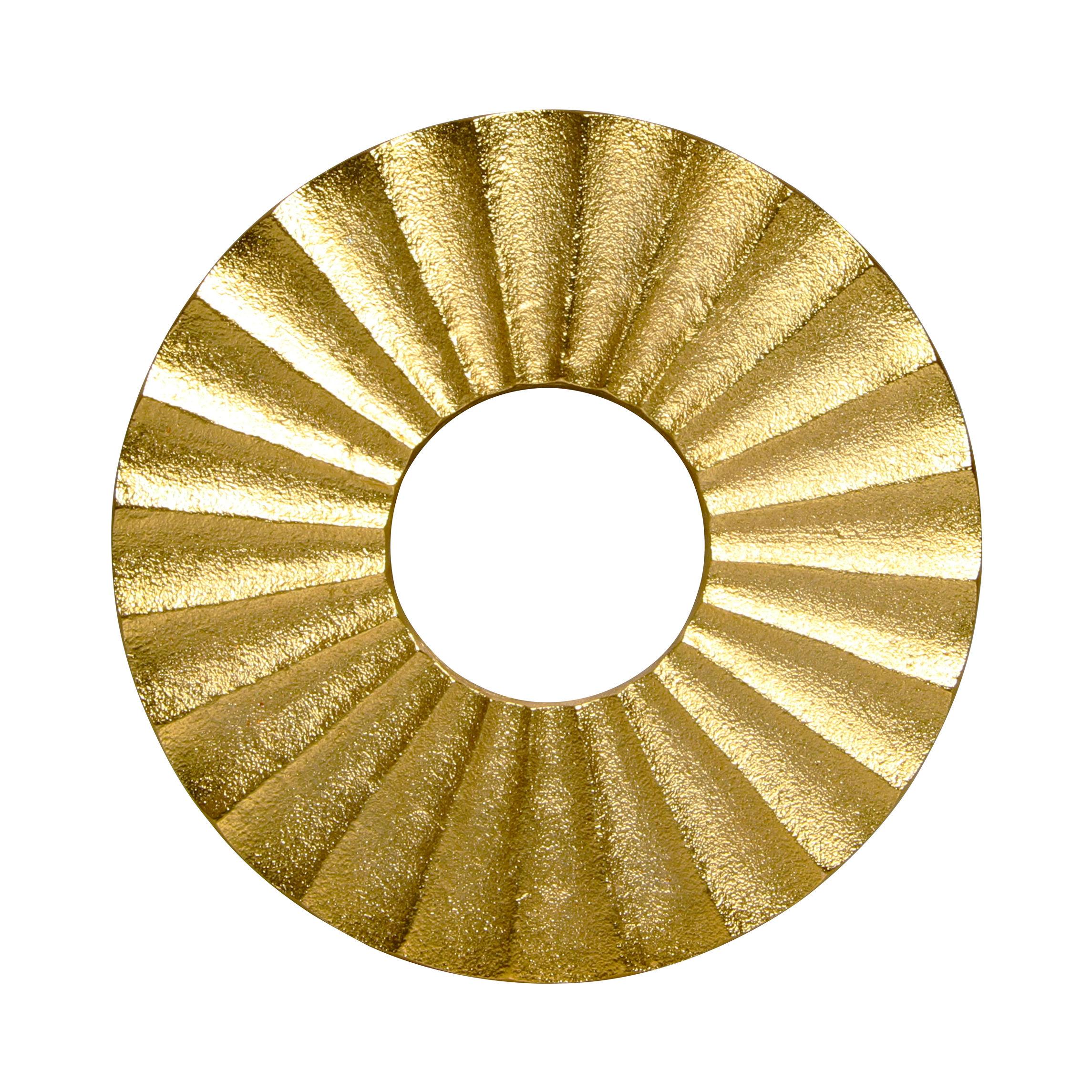 Dessous de plat 15 cm m tal or klevering - Dessous de plat en metal ...