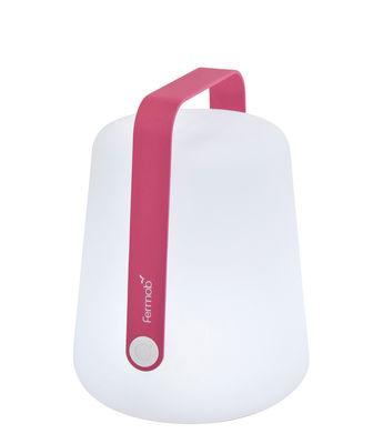 Foto Lampada senza fili Balad / LED - Ricarica USB - Fermob - Fucsia - Metallo Lampe sans fil